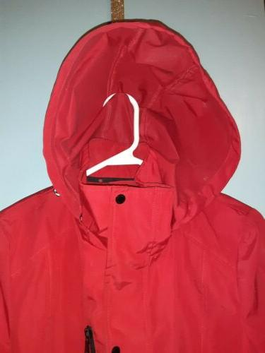 Womens Coat Red Small