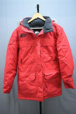 The North Face McMurdo Parka III Coat, Men's Size S, Red NEW