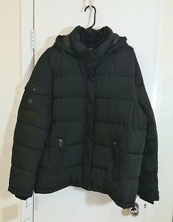 Calvin Klein Men's Alternative Down Puffer Jacket with Bib a