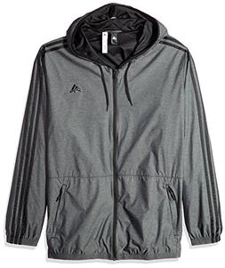 adidas Men's Athletics Essential Wind Jacket, Black/No Color
