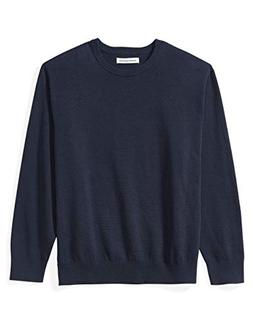 Amazon Essentials Men's Big and Tall Crewneck Sweater fit by