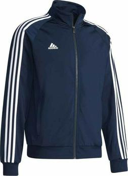 Adidas Men's Essentials 3-Stripe Tricot Track Jacket Navy B4
