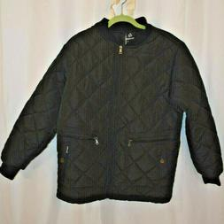 Wantdo Men's Quilted Bomber Jacket, Black, Size M, Outdoor D