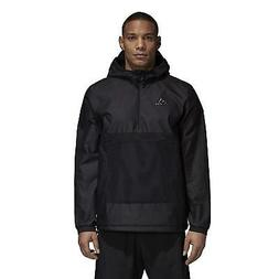 Adidas Men's Tango Windbreaker Jacket Coat Hooded Black or R