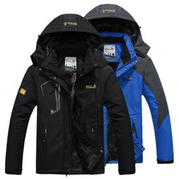 Men's Winter Ski Jacket Coat Snow Waterproof Windbreaker Fle