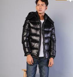 Mens Winter Warm Fashion Casual Down Coat Parka Outerwear Lo