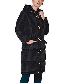 mewow Women's Winter Long Thick Coat Lightweight Quilted Cot