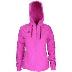 The North Face Women's Mezzaluna Fleece Hoodie Jacket -Small