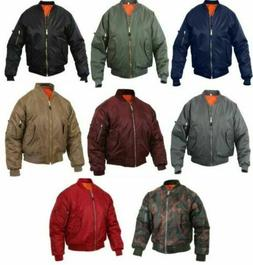 MA1 Bomber Jacket PRESIDENTS DAY SALE AirForce Reversible Fl