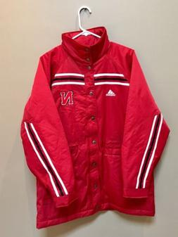 Adidas Nebraska Cornhuskers Rain Resistant Thermal Coat Full
