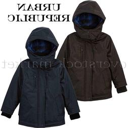 NEW BOYS URBAN REPUBLIC HOODED MID TO HEAVY WEIGHT PONGEE JA
