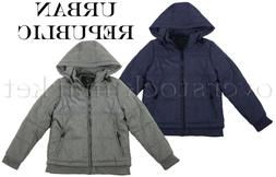 NEW BOYS URBAN REPUBLIC HOODED MID-WEIGHT JACKET COAT! VARIE