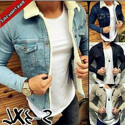 New Fashion Men's Classic Jeans Jackets Casual Denim Coat Ou