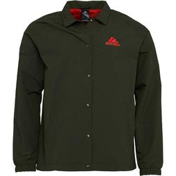 NEW MENS ADIDAS TANGO COACH JACKET COAT BR1514 SIZE LARGE