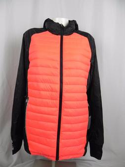 New ASICS Quilted Puffer Duck Down Jacket Coat Size S