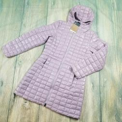 New THE NORTH FACE sz S/M/XL women's purple thermoBall hoode