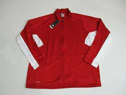 NEW Adidas Track Jacket Adult Extra Large Red White Stripes