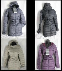 NEW! Women's EDDIE BAUER Cirruslite 650 Down Parka Coat VARI