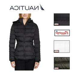 new women s stretch water resistant puffer
