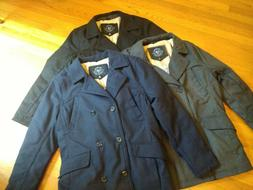 NWT, $140. Urban Republic Men's Double-Breasted Sherpa Lined