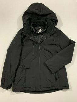 Calvin Klein NWT Size XL Women's System Hooded Jacket Coat 3