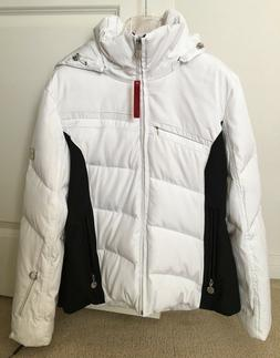 NWT Calvin Klein Women's Down & Feather Fill Hooded Winter C