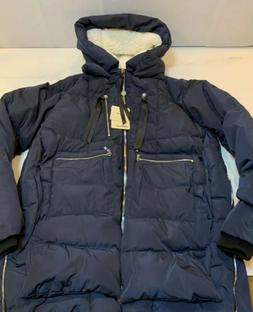 NWT Orolay Women's Thickened Down Jacket  Blue