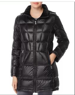 Calvin Klein Packable Hooded Puffer Women's Down Coat Jacket