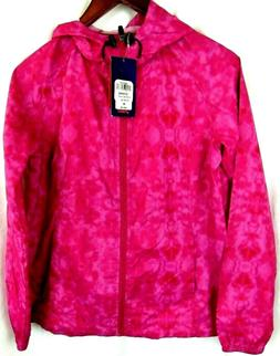 Asics Packable Medium Pink Lightweight Polyester Athletic Ho