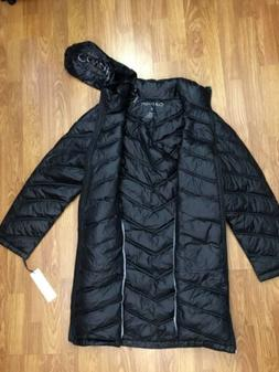 CALVIN KLEIN Packable Puffer Jacket Down Quilted CoatBlack L
