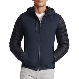 adidas Performance Mens Climaheat Full Zip Goose Down Jacket