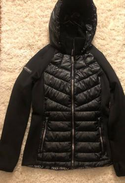 Calvin Klein Performance Women's Winter Down Puffer Coat- Bl