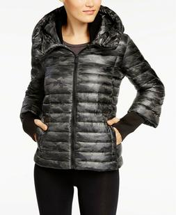 Calvin Klein Performance Women's Winter Down Puffer Coat Oli
