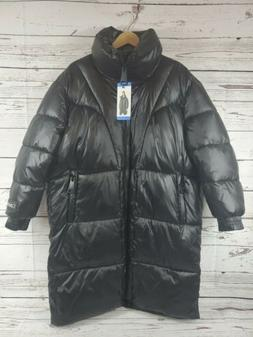 Calvin Klein Puffer Jacket Oversized Black Women's LARGE Kne