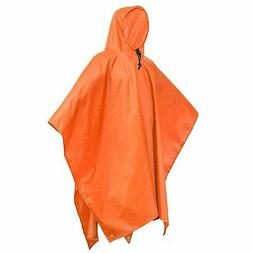 Rain Poncho Waterproof Raincoat with Hoods for Outdoor Activ