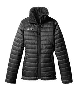 The North Face Girl's Reversible Mossbud Swirl Jacket - TNF