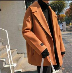 shawl coats lapel sleeve jackets loose fit