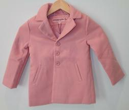 Urban Republic Size 4 Little Kids CHARLOTTE LONG COAT Pink N