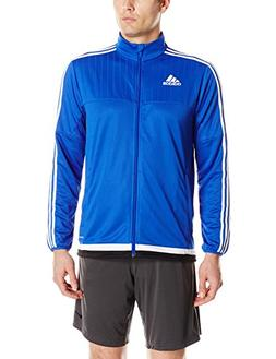 adidas Men's Soccer Tiro 15 Training Jacket, Bold Blue/White