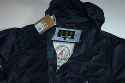 Barbour & Sons Aetna Jacket Coat Navy MCA0359NY51 New Large