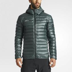 Adidas Terrex Lite Down Hooded Jacket Lightweight Winter Wat