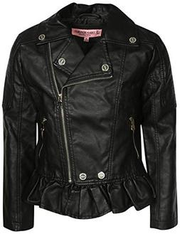 Urban Republic Toddler & Big Girls Faux Leather Motorcycle M