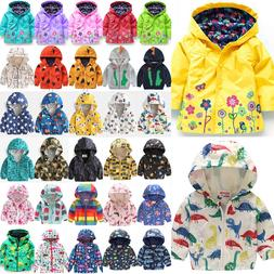 toddler baby girls kids hoodie jacket coat