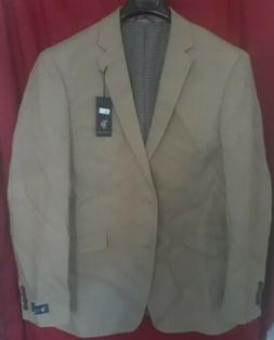 U.S. Polo Assn. Men's Cotton Sport Coat - Tan Bone Size 44 r