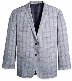 U.S. Polo Assn. Mens Big Tall Polyester Blend Sport Coat- Se