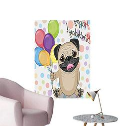 Wall Decals Kids Animal Cute Dog Smiling P y Ballo Greeting