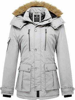Wantdo Women's Quilted Winter Coat Warm Puffer Jacket Thicke