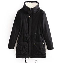 ACE SHOCK Winter Coats for Women Plus Size, Faux Fur Lined P