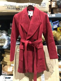 Allegra K Woman's Winter Coat Size S Red NWT