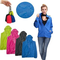 Women Men Waterproof Windproof Jacket Outdoor Quick Dry Bicy